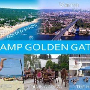 """Американски летен лагер – Camp Golden Gate в морски курорт """"Чайка"""""""