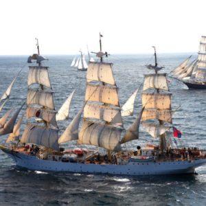Пансионно училище на кораб